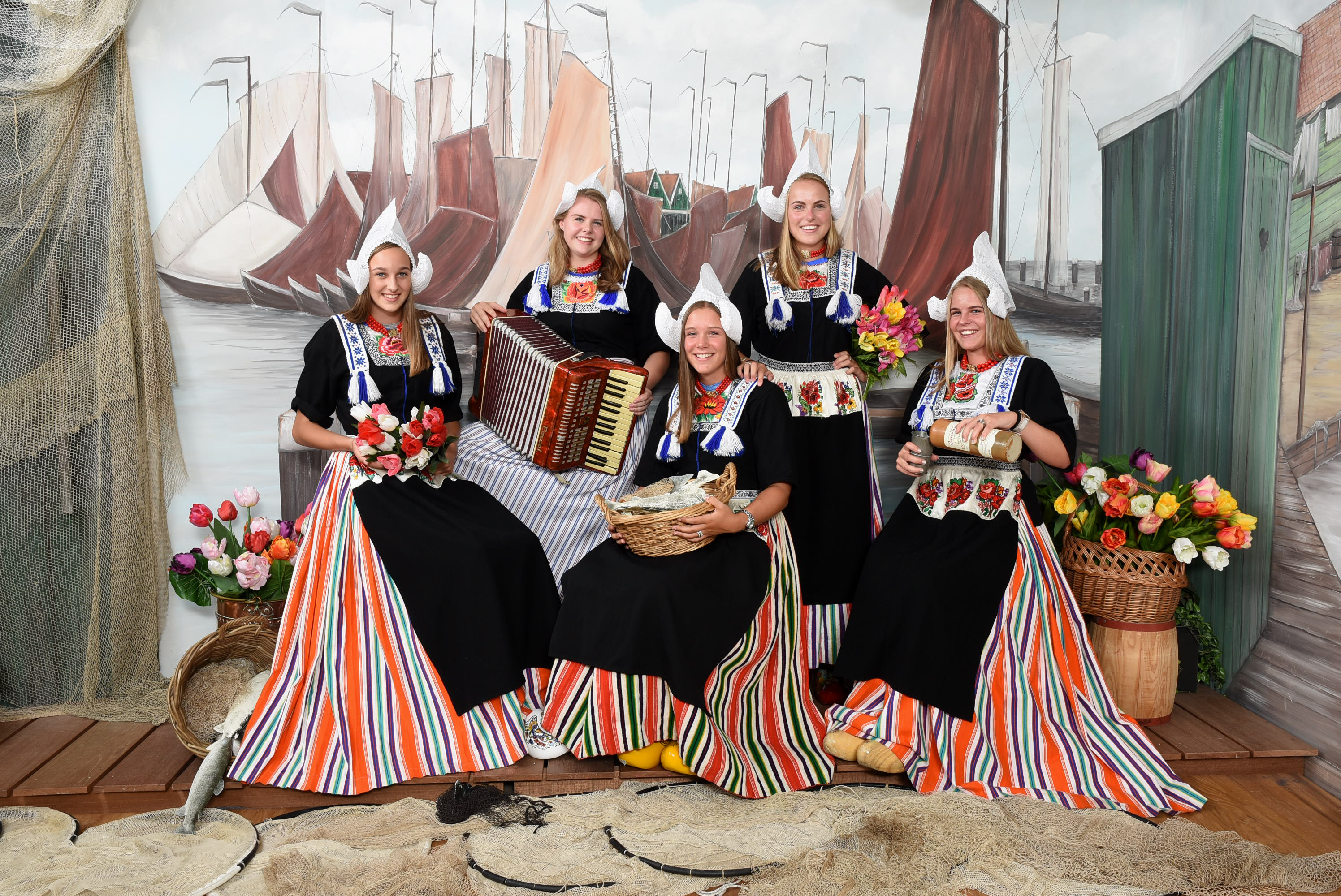 Nieuw Foto in Klederdracht - Experience Volendam Foto in klederdracht KQ-78